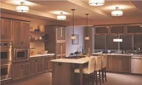 semi flush mount lighting to give impression in your room all