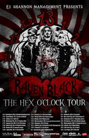 Parrot Bodies Hit The Floor Remix by Enter The 13th Hour With Raven Black On Their Hex O U0027clock Tour