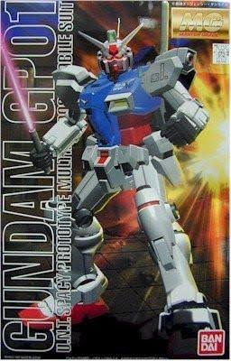 Bandai Hobby RX-78 Gundam GP01 Model Kit