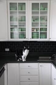 kitchen backsplashes glass subway tile kitchen paint backsplash
