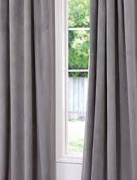Ikea Sanela Curtains Grey by Inspiring Grey Velvet Curtains And Sanela Curtains 1 Pair 55x118