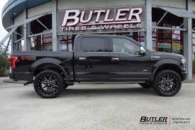 100 Truck Rims And Tires Packages Ford F150 With 22in Fuel Maverick Wheels Exclusively From Butler
