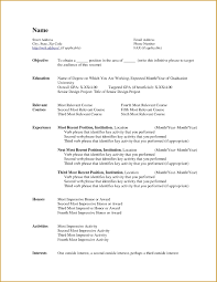 Free Resume Templates For Libreoffice New Template