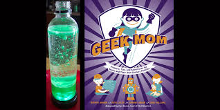 Geek Mom Book Lava Lamp Project
