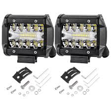 Tri Row Cree LED Light Bar Combo Beam Work Driving Fog Truck Offroad ... 4x 4inch Led Lights Pods Reverse Driving Work Lamp Flood Truck Jeep Lighting Eaging 12 Volt Ebay Dicn 1 Pair 5in 45w Led Floodlights For Offroad China Side Spot Light 5000 Lumen 4d Pod Combo Lights Fog Atv Offroad 3 X 4 Race Beam Kc Hilites 2 Cseries C2 Backup System 519 20 468w Bar Quad Row Offroad Utv Free Shipping 10w Cree Work Light Floodlight 200w Spotlight Outdoor Landscape Sucool 2pcs One Pack Inch Square 48w Led Work Light Off Road Amazoncom Ledkingdomus 4x 27w Pod