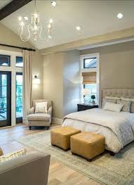 Vaulted Ceiling Bedroom Design Ideas Extraordinary Master Lighting And
