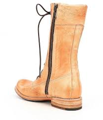 Bed Stu Gogo Boots by Bed Stu Dundee Combat Boots In Natural Lyst
