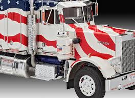 Revell 07429 Marmon Conventional Stars And Stripes Model Kit: Amazon ... Italeri 124 751 Lvo Fh12 Model Truck Kit From Kh Norton Uk 3854 Accsories Set 2 Revell Ford Fd100 Pickup Chip Foose Scaledworld Kenworth W900 Truck 851507 125 New Model Kit Shore Line Hobby Of Germany Plastic 65 Chevy Stepside 2in1 Military Vehicle Lkw 5tmil Gl 4x4 172 Wrecker 852510 045jpg Zil 131 Heavy Utility 135 Kits Britmodellercom Mercedes Benz 1450 Ls Scale Gmc The Crittden Automotive Library Nos Marmon Cventional And 50 Similar Items