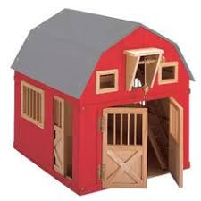 small wooden barn playhouse plan woodworking plans pinterest