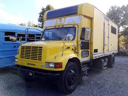 2000 International 4900 Single Axle Box Truck For Sale By Arthur ...