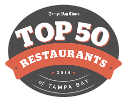 Top 50 Restaurants Of Tampa Bay For 2018