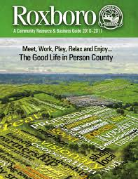 Cartner Christmas Tree Farm by Roxboro Area Chamber Of Commerce Business Guide By J Thompson Issuu