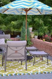 Target Patio Set With Umbrella by Decorating Elegant Wicker Patio Furniture With Cushions And Cozy