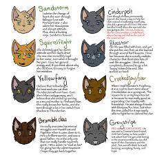 warrior cat names 42 best warrior cats images on warrior cats warriors