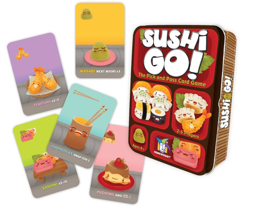 Gamewright Sushi Go Card Game