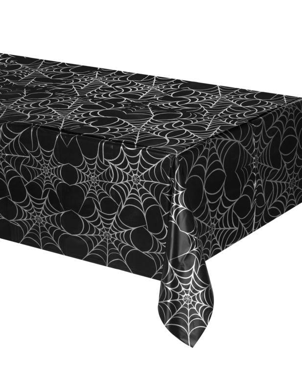 "Creative Converting All Over Print Tablecover - Haunted Night, 54""x108"""