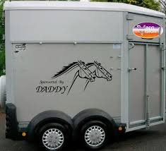 Sponsored By Daddy For Car, Lorry, Trailer, Horsebox Stickers ... Bruder 02749 Man Tga Cattle Transportation Truck With 1 Cow New Breyer Horse And Trailer Breyer 5356 Stablemates Gooseneck In Box Traditional Two Millbry Hill Amazoncom Animal Rescue And The Best Of 2018 Pickup Fort Brands 5352 Wyldewood Tack Shop Used Red Dually Truck Trailer Sn14 North Wraxall For 19 Scale Twohorse Horze Series Dually