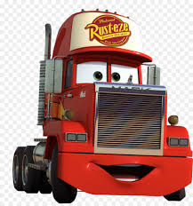 Lightning McQueen Mater Car Mack Trucks Mack R Series - Car Png ...