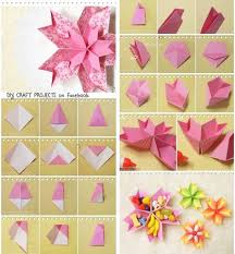 Paper Arts And Crafts Ideas Step By Beautiful Flower Craft Tutorial Roho 4senses