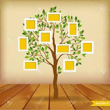 l arbre a cadre la conception de l arbre insérez vos photos dans des cadres clip