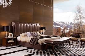 Headboard Designs For King Size Beds by Caesar Italian Classical Design Leather Platform King Bed