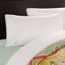 jaipur full sheet set white with aqua echo design