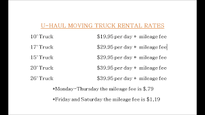 UHAUL PRICES Docx - YouTube The Hidden Costs Of Moving In Canada Moneywise Companies Prices Movingprices On Pinterest Truck Rental Comparison How Much Money Should I Save Before Out Uhaul Boxes Tape Packing Supplies Hitches Propane And Vehicle Kl Cost Estimator Dumbo Moving Storage Nyc Longdistance Movers Two Men And A Truck To Select Company Loans Business Funding For Professional Gud Two Week California Road Trip Itinerary Fding The Universe