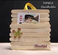 Popsicle Cardholderhow To Make CardholderCraft