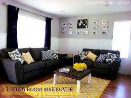 Teal Brown Living Room Ideas by Accessories Fascinating Gray And Yellow Living Room Decorating