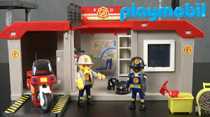 100 Playmobil Fire Truck City Action Take Along Station From YouTube