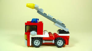 100 How To Build A Lego Fire Truck FIRE TRUCK Creator 6911 YouTube