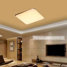 floureon ym dt24w led rectangle ceiling light 2 4g wireless remote