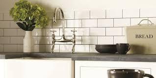 White Kitchen Tiles Ideas Traditional Classic Kitchen Tile Ideas