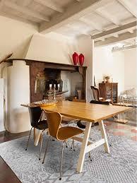 benuta flachgewebe teppich tosca hellgrau 75x165 cm pflegeleichter teppich für flur und andere wohnräume