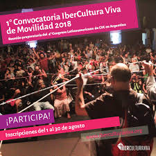 1ª Convocatoria IberCultura Viva De Movilidad 2018 SEGIB