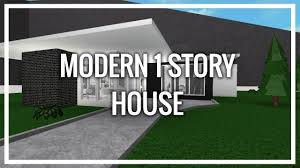 100 Modern One Story House ROBLOX Welcome To Bloxburg