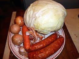 recette de saucisses de montbeliard au chou blanc