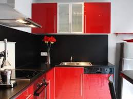 repeindre meuble cuisine laqué repeindre porte cuisine peinture marron glac au mur peinture
