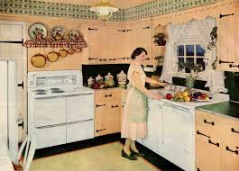 1955 Blush Colonial Kitchen Cropped