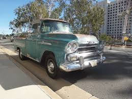 100 1958 Chevy Truck For Sale Chevrolet Apache Vintage Car Collector