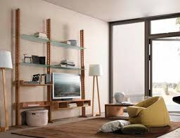modernes regal e 113 dale italia holz glas wohnzimmer