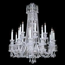 Swarovski Crystal Lamp Finials by King 18 Light Crystal Chandelier With Swarovski 32
