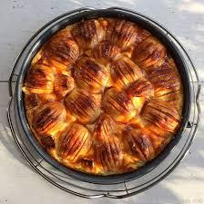 cremiger apfel schmand kuchen chili und ciabatta