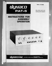 dynaco pat 5 stereo prelifier pro serviced ebay