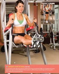 roman chair leg raises biceps abs phase 1 pinterest leg