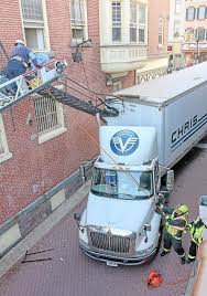 100 Vitran Express Trucking Boards Tractortrailer Rips Fire Escape From Pottstown Building News