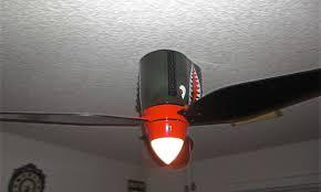 war ii airplane ceiling fan