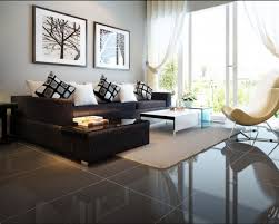 Dark Brown Couch Decorating Ideas by Amazing 25 Living Room Designs Black Sofa Design Inspiration Of