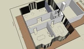 making a floor plan in google sketchup