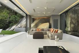 Grey Living Room Bifold Doors